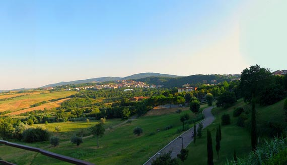 Chianciano in Tuscany Italy